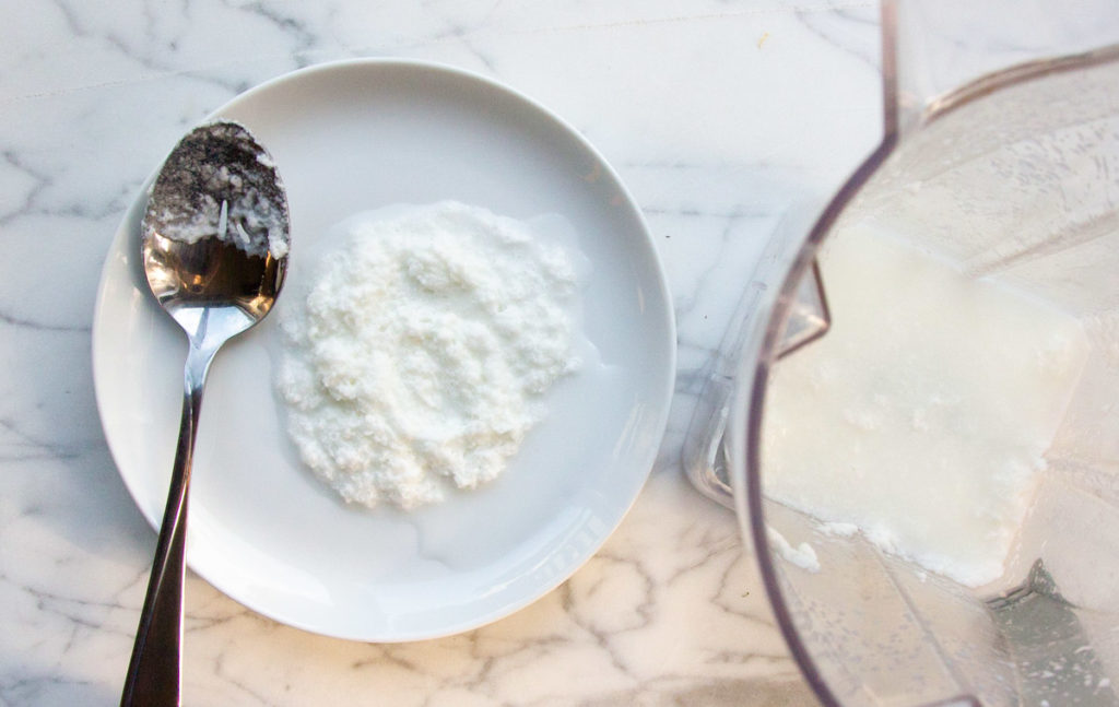 the fat is removed from yogurt to make ayurvedic buttermilk