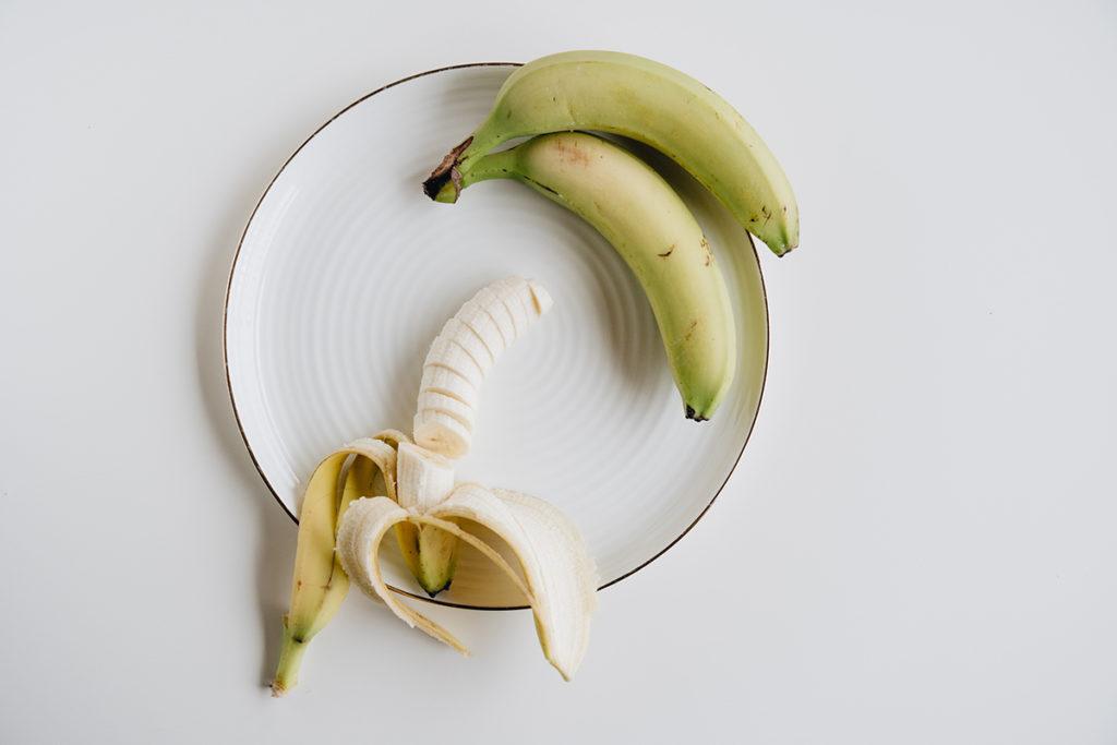 perfectly ripe bananas