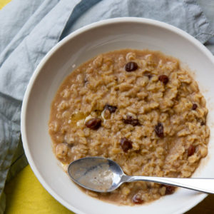 ayurvedic oatmeal