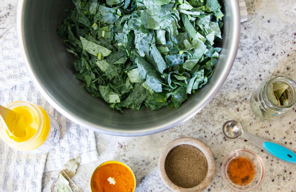 ingredient for kale soup