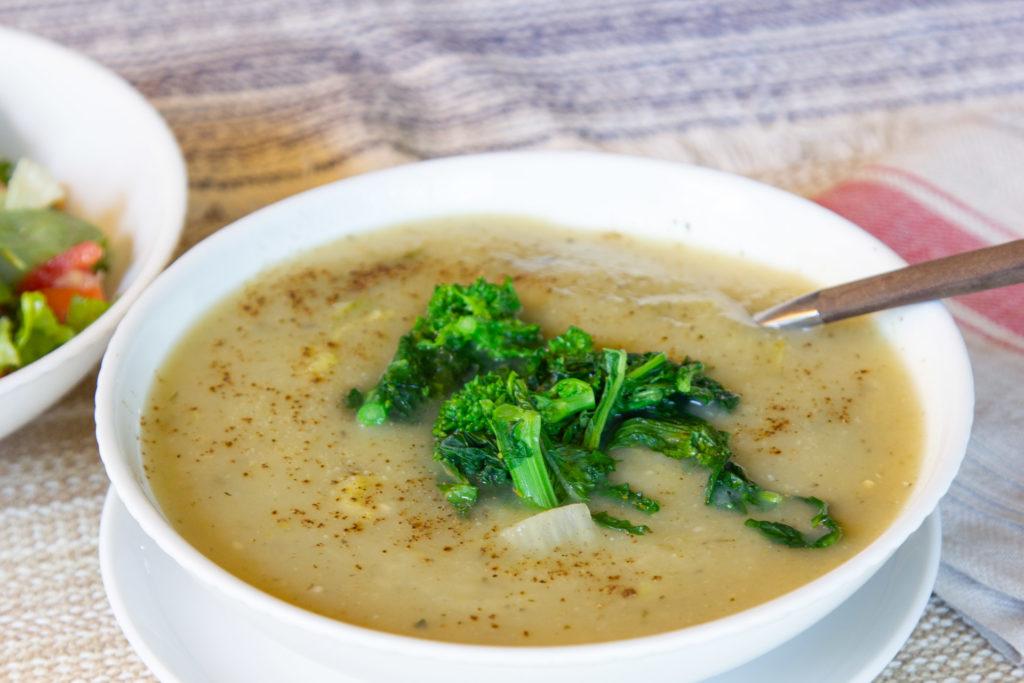 Healthier Creamy Potato Soup